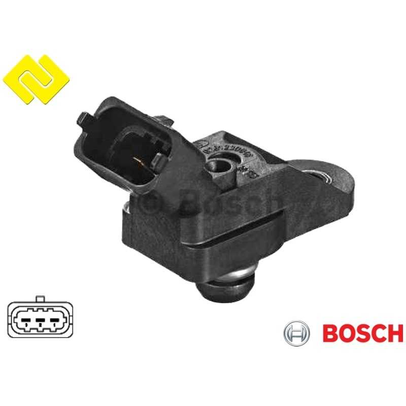 BOSCH 0261230046 Intake Manifold Pressure Sensor MAP PARTSBOS