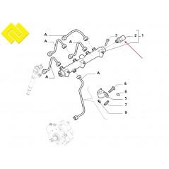 BOSCH 0281002937 ,0281002706 ,0281002707 ,Fuel Pressure Sensor -PARTSBOS