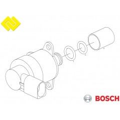 BOSCH 0928400498 Fuel Pressure Regulator PARTSBOS