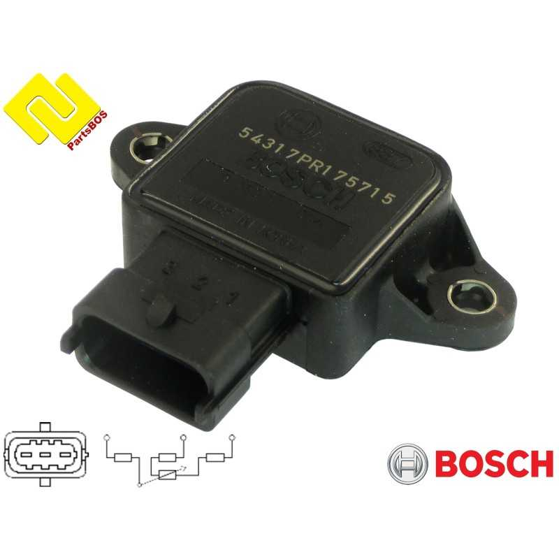 BOSCH 0280122014 Throttle Position Sensor (TPS). Accelerator pedal position sensor (APS).