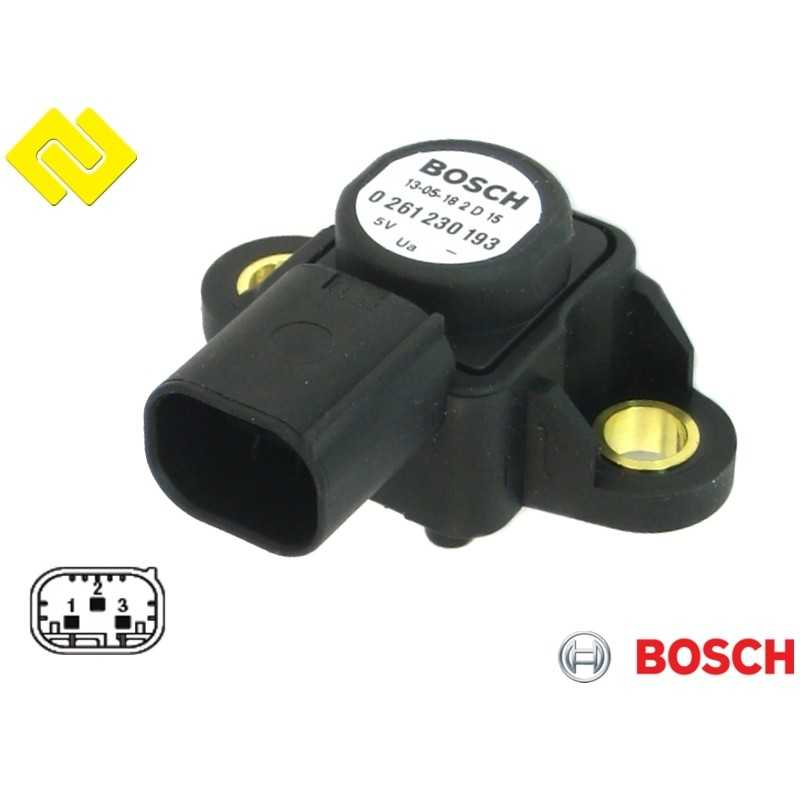 BOSCH 0261230193 ,replaces 0261230143  Sensor MAP , https://partsbos.shop/