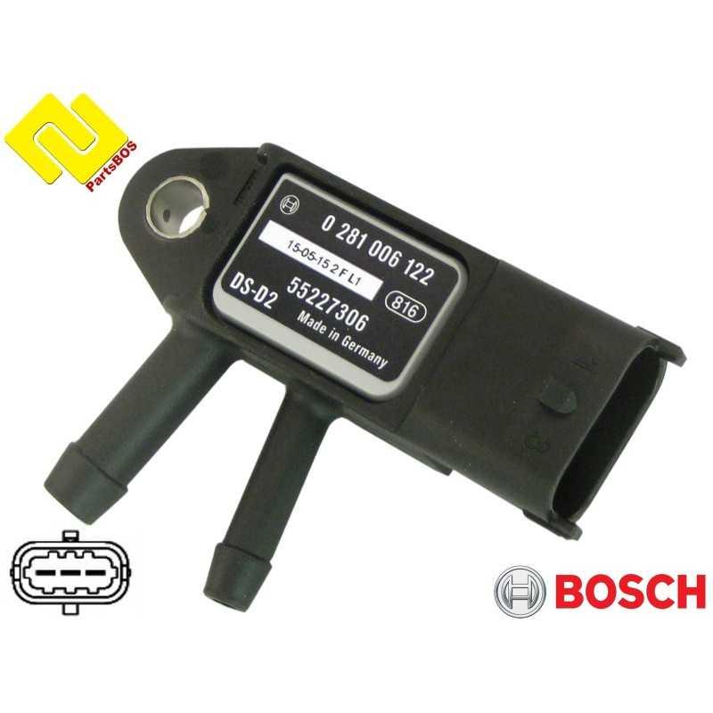 BOSCH 0281006122 , EXHAUST GAS BACKPRESSURE SENSOR , https://partsbos.shop/