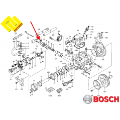 BOSCH 9443612895 ,INJECTION ANGLE REGULATOR SENSOR , 479765-6720 , for MITSUBISHI PAJERO ,