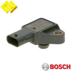 BOSCH 0261230493 Intake Manifold Pressure Sensor MAP , PARTSBOS