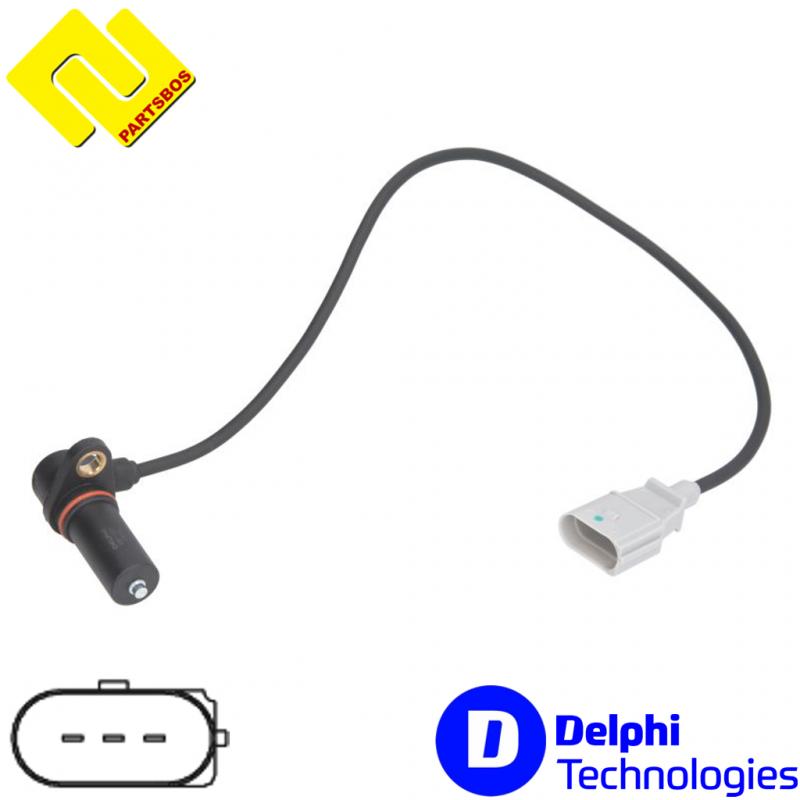 DELPHI SS11053 Crankshaft RPM Sensor PARTSBOS