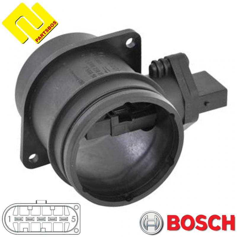 BOSCH 0280218159 Air Mass Sensor PARTSBOS