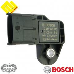 BOSCH 0281006095 Intake Manifold Pressure Sensor MAP PARTSBOS