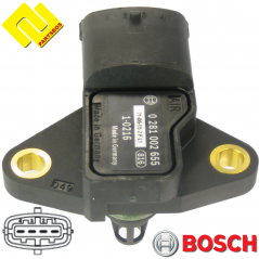 BOSCH 0281002655 ,0281002233 Intake Manifold Pressure Sensor MAP ,PARTSBOS